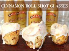 ~Cinnamon Roll SHOT GLASSES! – Oh Bite It