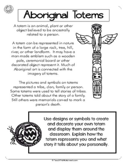 Aboriginal Totems More