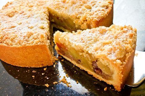 Tarta de Manzana con Crumble de Canela Te enseñamos a cocinar recetas fáciles cómo la receta de Tarta de Manzana con Crumble de Canela y muchas otras recetas de cocina.