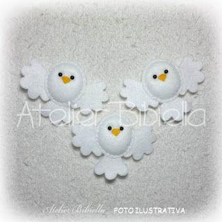 Moldes para Artesanato em Feltro! www.feltrofacil.com.br