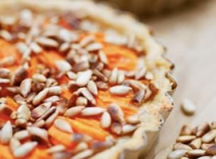 Recette Tarte de carottes et graines de tournesol - FemininBio