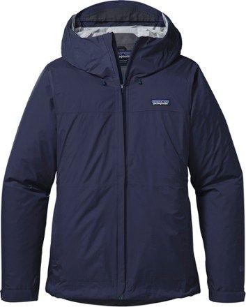 Patagonia Women's Torrentshell Jacket Navy Blue XS