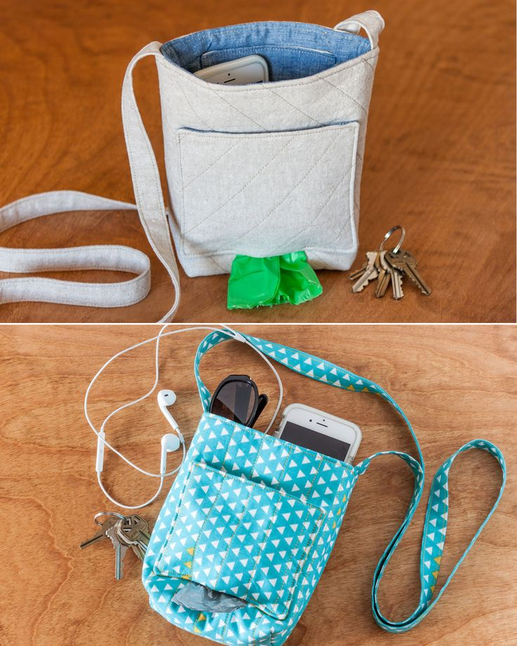 With this dog walking bag, supplies are within easy reach. The project features an easy-to-access outer pocket that dispenses clean-up bags, and room in the main pocket for treats, keys, ID, phone, and more. It's fun to sew and makes a great gift!