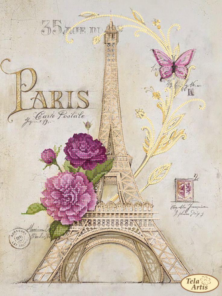 Французская открытка мелодия, петром февронии
