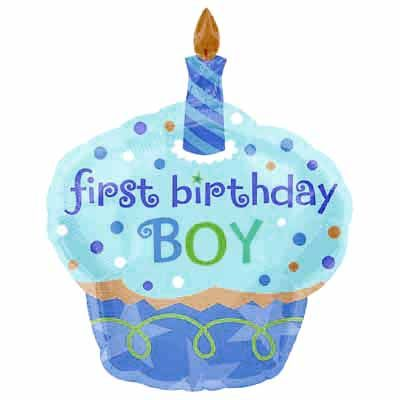 22 best 1st birthday party supplies images on pinterest 1st 1st birthday boy party supplies with the cupcake balloon junglespirit Gallery