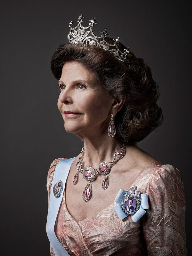 Swedish Queen Silvia. Released in 2015