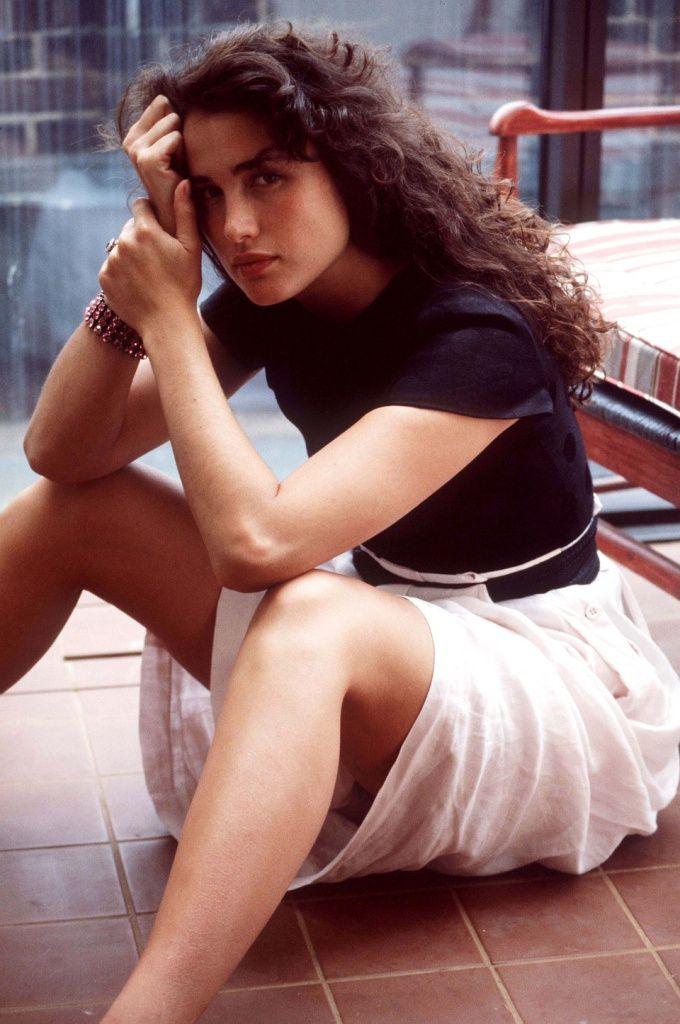 Andie MacDowell photographed by Eva Sereny, 1980.