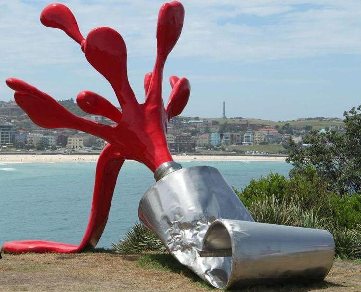 Tomas Misura, Splash, Sculpture by the Sea, Bondi, Sydney 2010