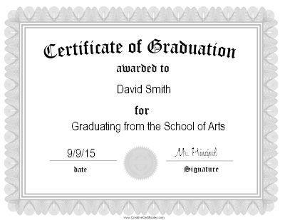 The 25+ best Graduation certificate template ideas on Pinterest - award certificate template