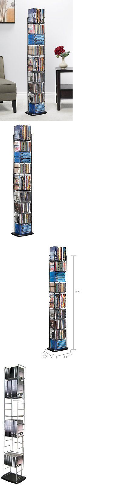 CD and Video Racks 22653: Multimedia Storage Cd Organizer Dvd Tower Rack Cabinet Movie Shelf Stand Media -> BUY IT NOW ONLY: $31.74 on eBay!