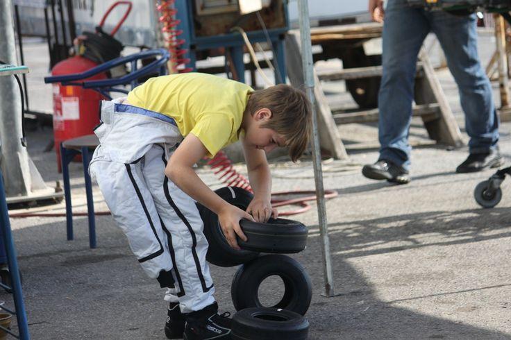 Thanasis Hourlias... This kid works very hard!