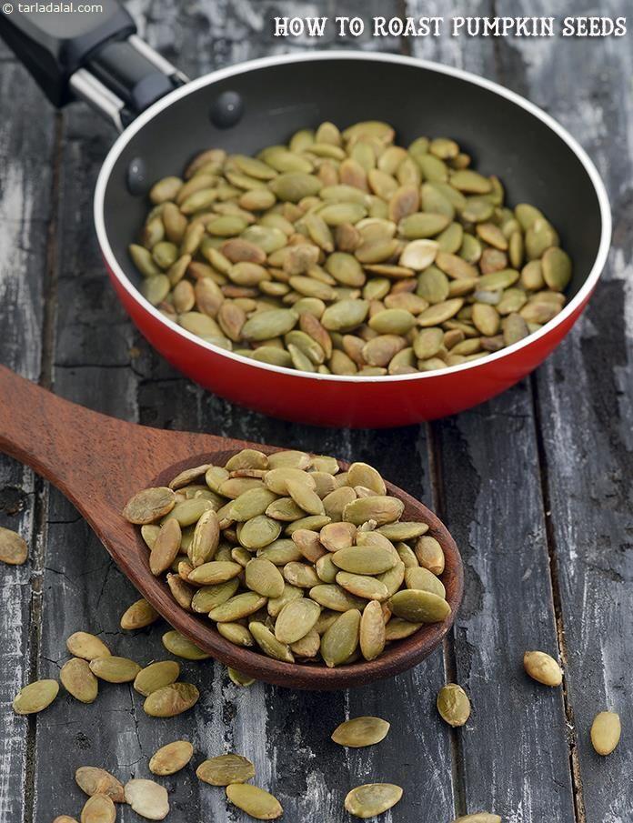 How To Roast Pumpkin Seeds, Roasted Pumpkin Seeds Recipe