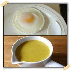 Uovo al microonde con salsa all'ananas e curry (attacco) - http://www.lamiadietadukan.com/ricetta-uovo-microonde-salsa-ananas-curry/  #dukan #dietadukan #ricette
