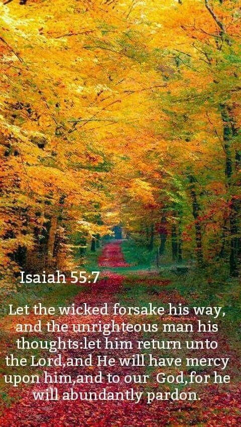 Isaiah 55:7 KJV