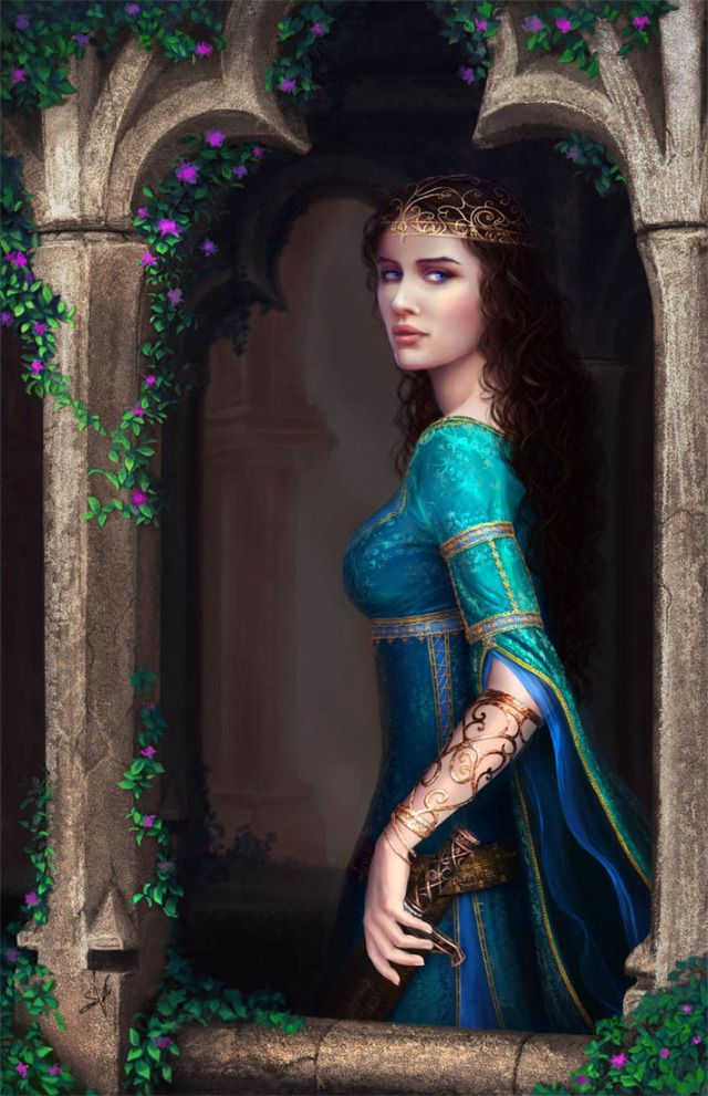 """Medieval Princess -Isabelle differs from her sister in almost every way, save for physical attributes. In politics, she grew bored. In sewing, she excelled. In poetry she preferred the tragic romance, where as her sister simply preferred tragic."""" -Excerpt"""