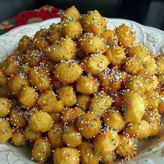 Strufoli - Italian Honey Balls @Erica Cerulo Parker  hers the recipe