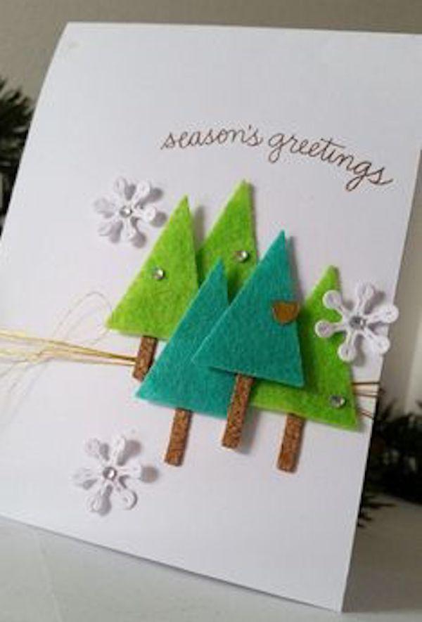 Как сделать открытку с новым годом английский