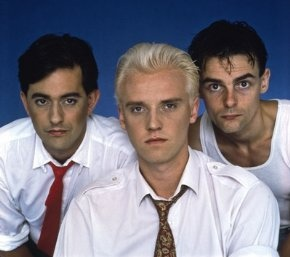 Heaven 17 original members of Human League formed in Sheffield, England UK 1978