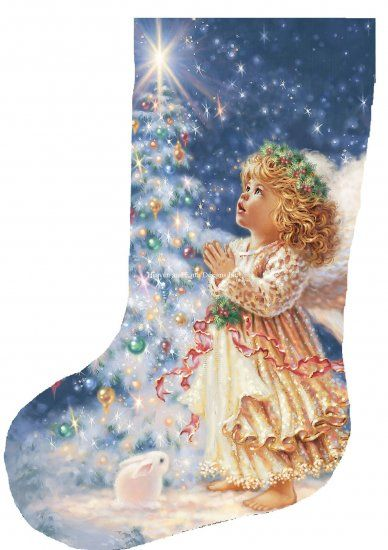 Needlepoint Christmas Stockings Kits On Sale