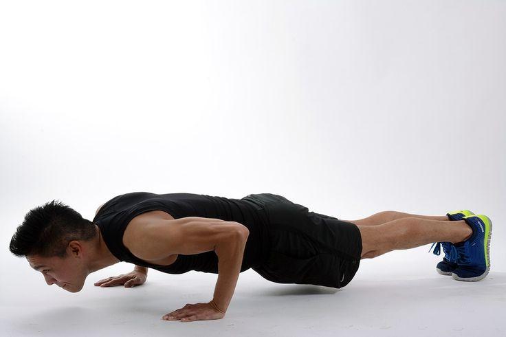 Mira este video y descubre 35 variantes de la plancha, un intenso ejercicio para el core.