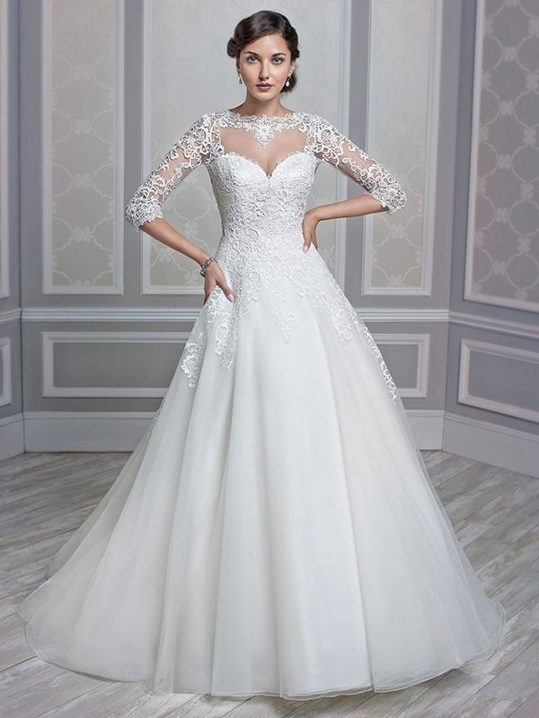 93 best Bridal Gowns images on Pinterest | Short wedding gowns ...
