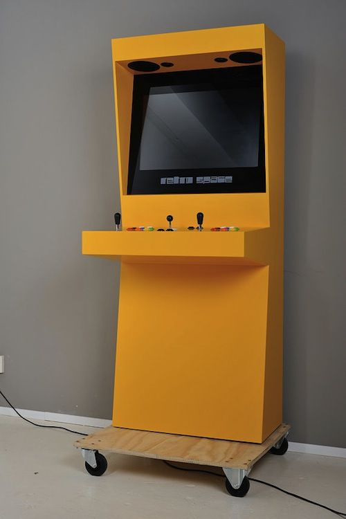 Sleek Retro Arcade Cabinets, Let You Play Favorite Arcade Games At Home