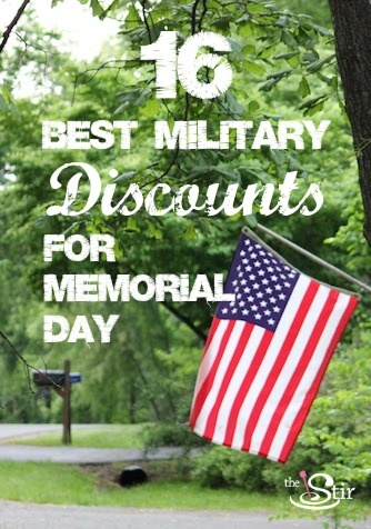 8 best military coupons discounts images on pinterest military 16 best military discounts for a happy memorial day fandeluxe Image collections