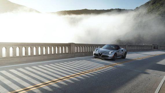 Alfa Romeo 4C Spider 2016 / Альфа Ромео 4С Спайдер 2016