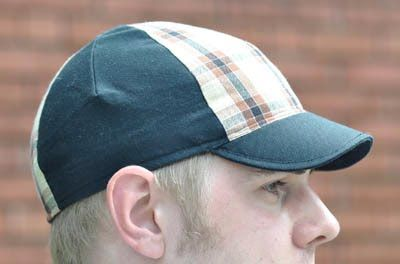 Cycling Cap Tutorial & PatternCycling Cap, Cycling Hats, Cap Tutorials, Head Of Garlic, Dude Crafts, Pattern Free, Dusty Sewing, Sewing Machine, Sewing Tutorials