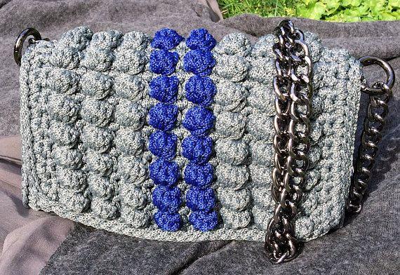 Bag Crochet handbag Handmade bag Walnuts collection Made