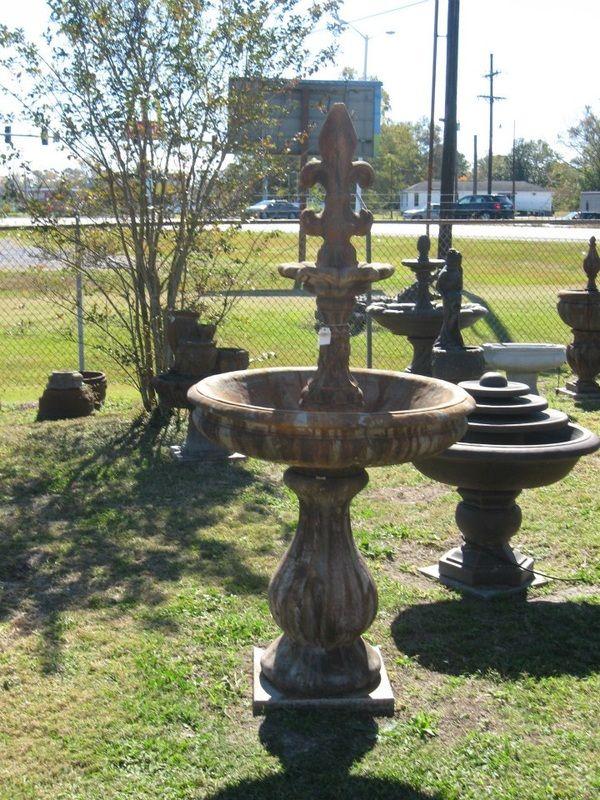 Fleur De Lis Fountain. Garden FountainsCustom ...