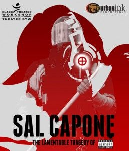 Sal Capone theatre play poster