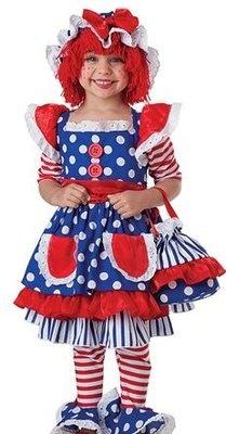 Raggedy Ann costume - so cute!