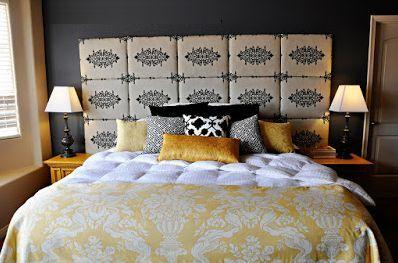 Você pode fazer em casa cabeceira de tecido para cama box para redecorar o seu quarto e ainda economizar um bom dinheiro.