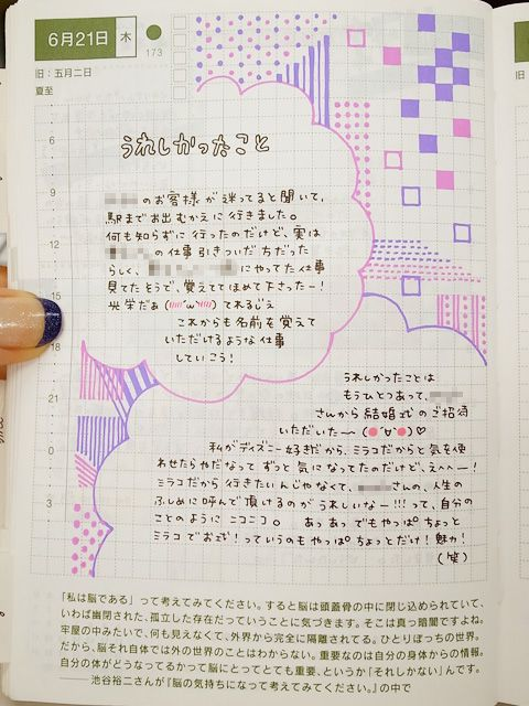 daily page:: color & style | sabao nikki #layout #Journal #hobonichi