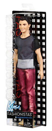 Fashionistas Ken Doll Blocked Cool Awesome Christmas Present for Little Boys New #Barbie #Dolls