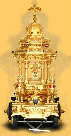 the golden chariot-http://www.iyyappaswami.com/chariot.htm