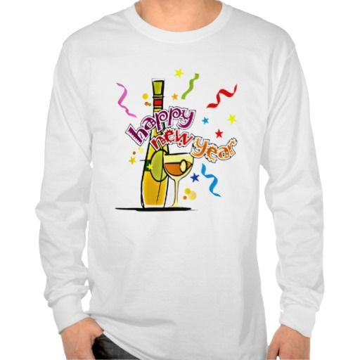 Happy New Year Tshirt. get it on : bismillahhttp://www.zazzle.com/happy_new_year_tshirt-235901384701822870?view=113312209415785209&rf=238054403704815742