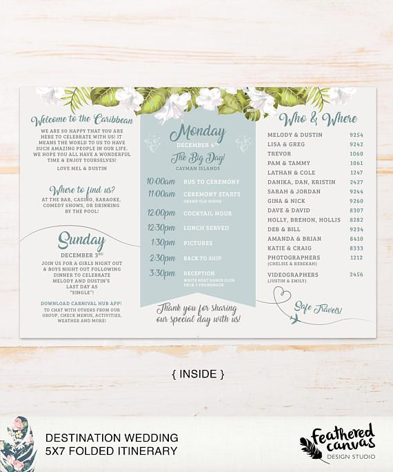 Check out this item in my Etsy shop https://www.etsy.com/ca/listing/580400803/itinerary-destination-wedding-silver