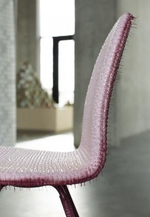 Niek Pulles' take on the Tongue Chair by Arne Jacobsen from Howe for Re-Framing Danish Design.