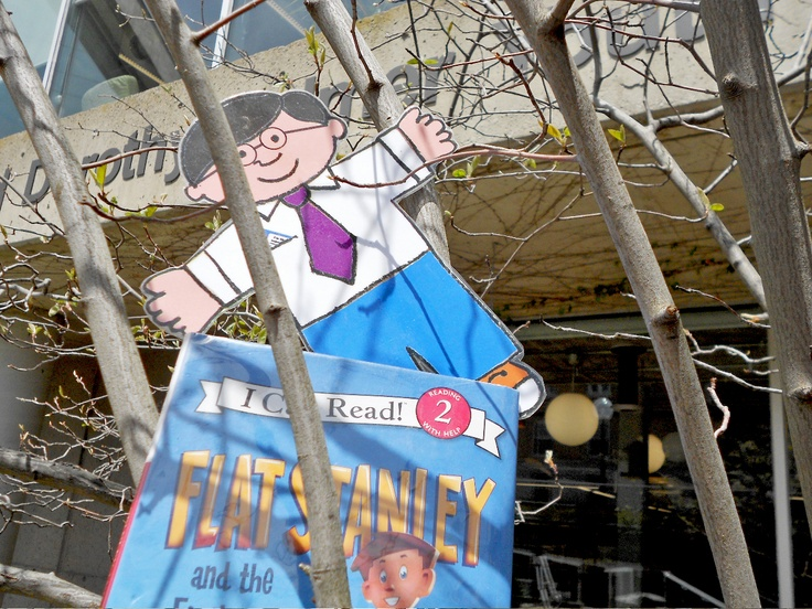 St. Thomas Public Library has a new Character-in-Residence! Meet Flat Stanley...