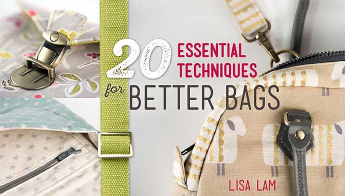Learn how to easily install linings, zippers, pockets, handles and more in any bag project.