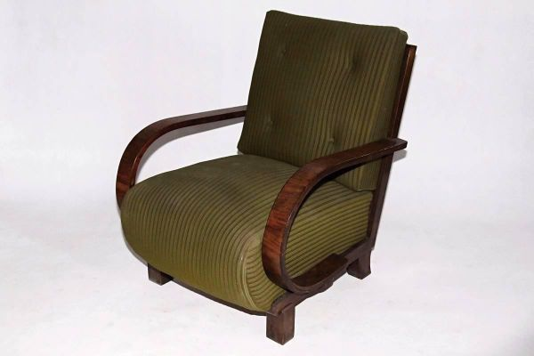 Art Deco Armchairs By Jindrich Halabala Set Of 2 Armchair Art Deco