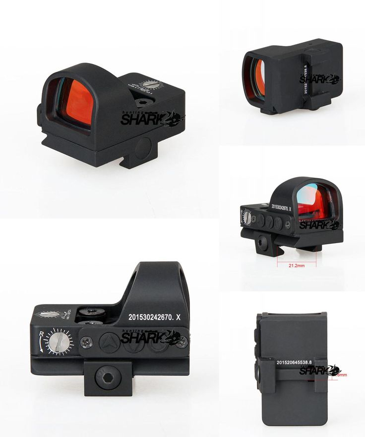 [Visit to Buy] Tactical 2MOA 1X Waterproof Mini Red dot Scope Sight Hunting Scope For Real Hunting  CL2-0078 #Advertisement