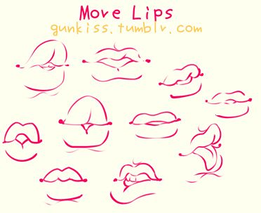 gunkiss: This is not a tutorial, but this is what I've in mind when I draw lips. The best idea is for you to look for references in real life, different races have certain features on their lips, but that doesn't mean that any type of character can't have mixed features, it depends of the character that you want to create. The most notorious feature from the lips is the relation in size between upper-lower lip, but if you add more variables to it you can get many different lips. I draw my…