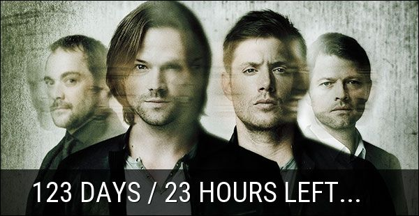 124 Days / 10 Minutes left until #Supernatural - Season 12 Premiere