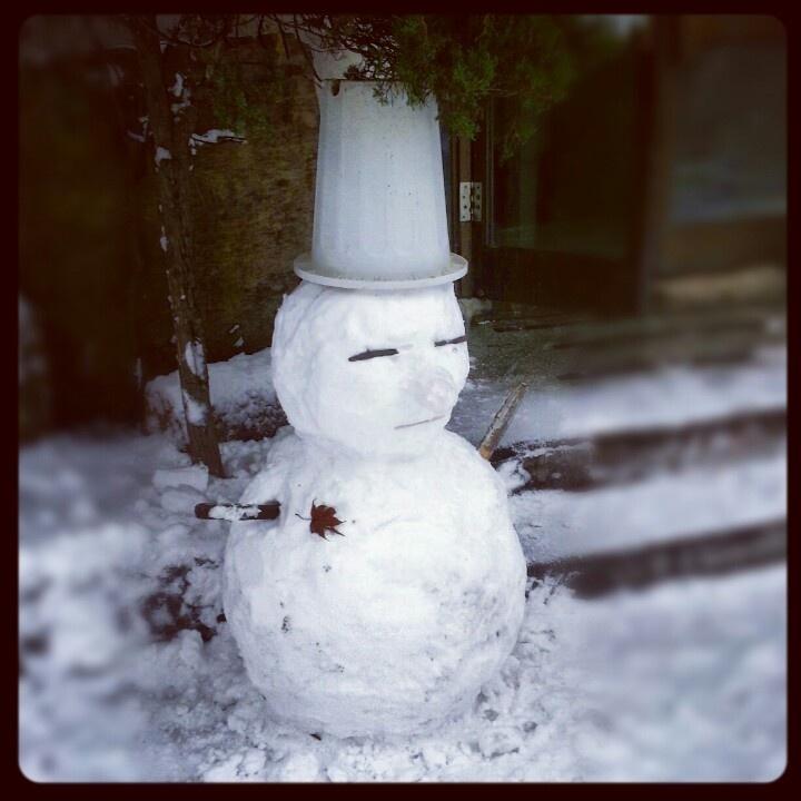 Snowman in kr