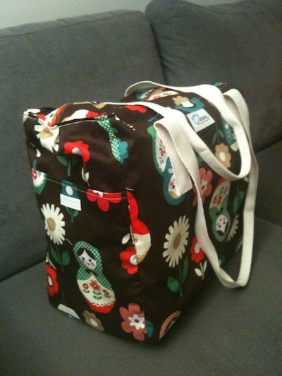 Huge bag perfect for weekend escapes.  http://anna-banana.com.au