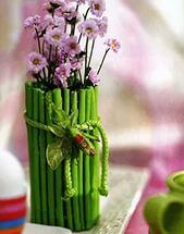Идеи декора для вазы и бокала (45 фото) .