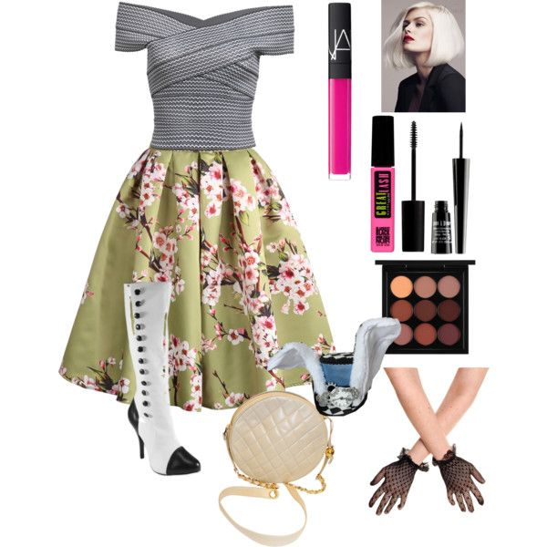 Bunny Blanc- Ever After High by rhianna-lue on Polyvore featuring Mode, Chanel, MAC Cosmetics, Maybelline, NARS Cosmetics, Lord & Berry, women's clothing, women's fashion, women and female